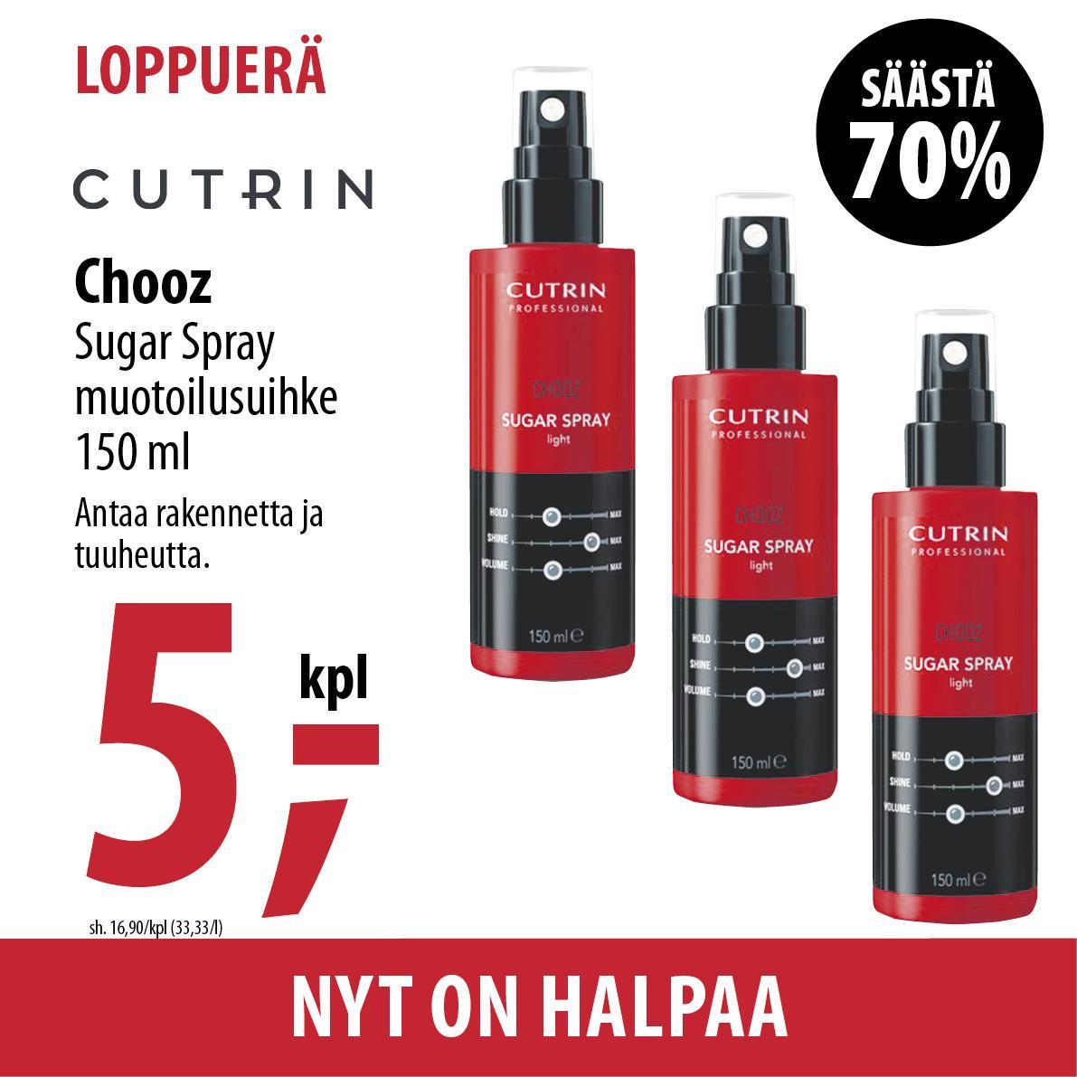 Cutrin Chooz Sugar Spray 500 420x420