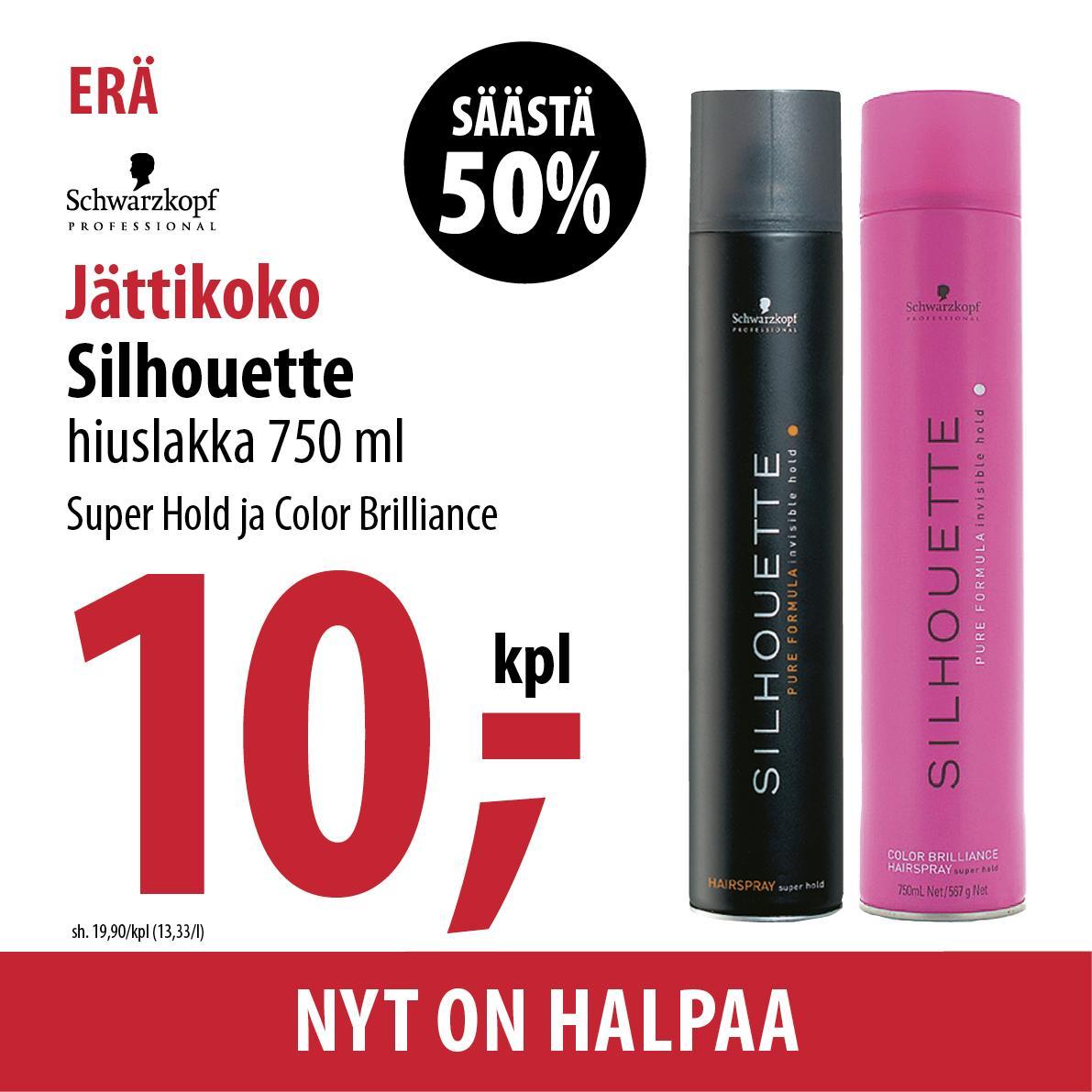 Silhouette musta pinkki 1000 420x420