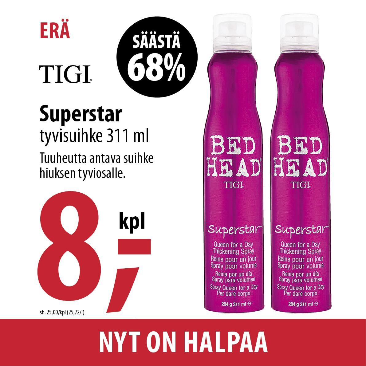 Tigi Superstar 800 420x420